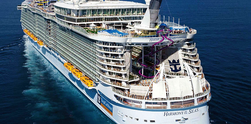 Port St. Maarten to welcome world's largest cruise ship Harmony of the Seas for upcoming season
