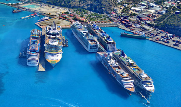 Port St. Maarten caters to over 1.9 million Cruise Passengers in 2015. Voted #1 Cruise Port in the Caribbean.